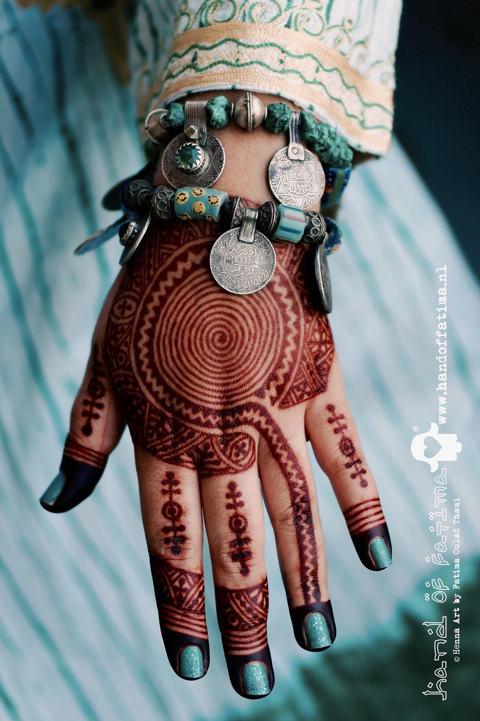 Henna Kunst Is Verheven Tot Een Lifestyle Hand Of Fatima