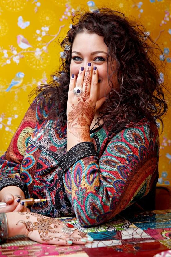 henna kunstenaar fatima oulad thami hand of fatima